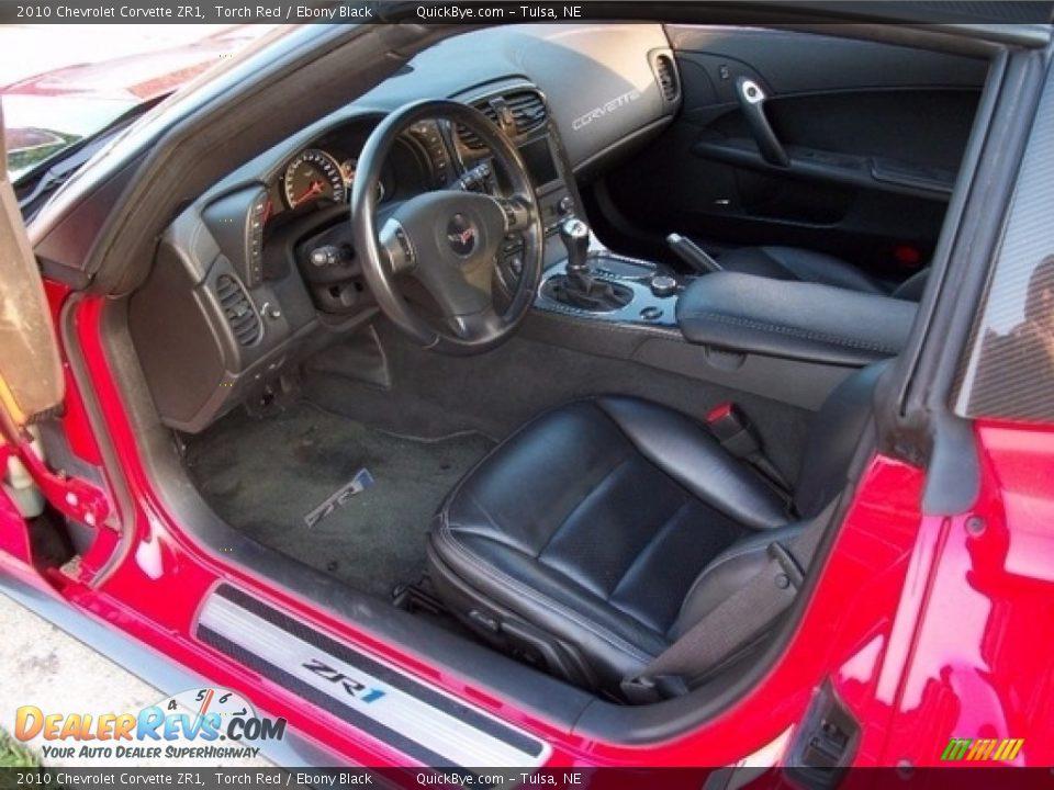 2010 Chevrolet Corvette ZR1 Torch Red / Ebony Black Photo #5