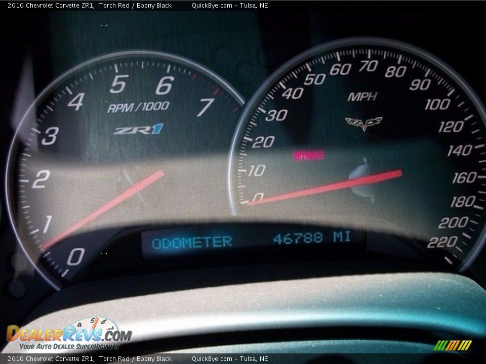 2010 Chevrolet Corvette ZR1 Torch Red / Ebony Black Photo #6