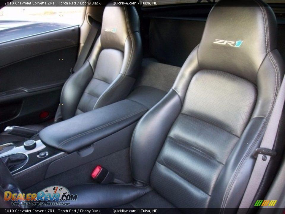 2010 Chevrolet Corvette ZR1 Torch Red / Ebony Black Photo #7