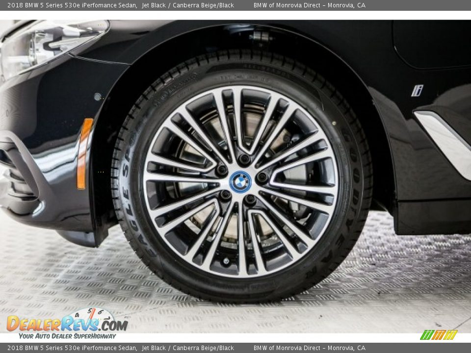 2018 BMW 5 Series 530e iPerfomance Sedan Wheel Photo #9