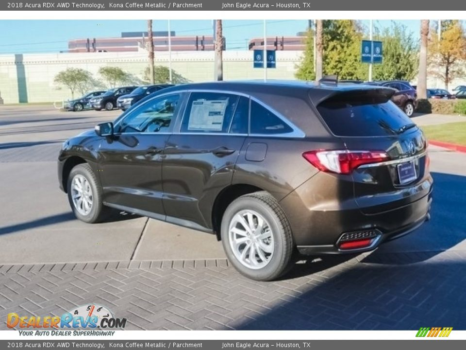 2018 Acura RDX AWD Technology Kona Coffee Metallic / Parchment Photo #5
