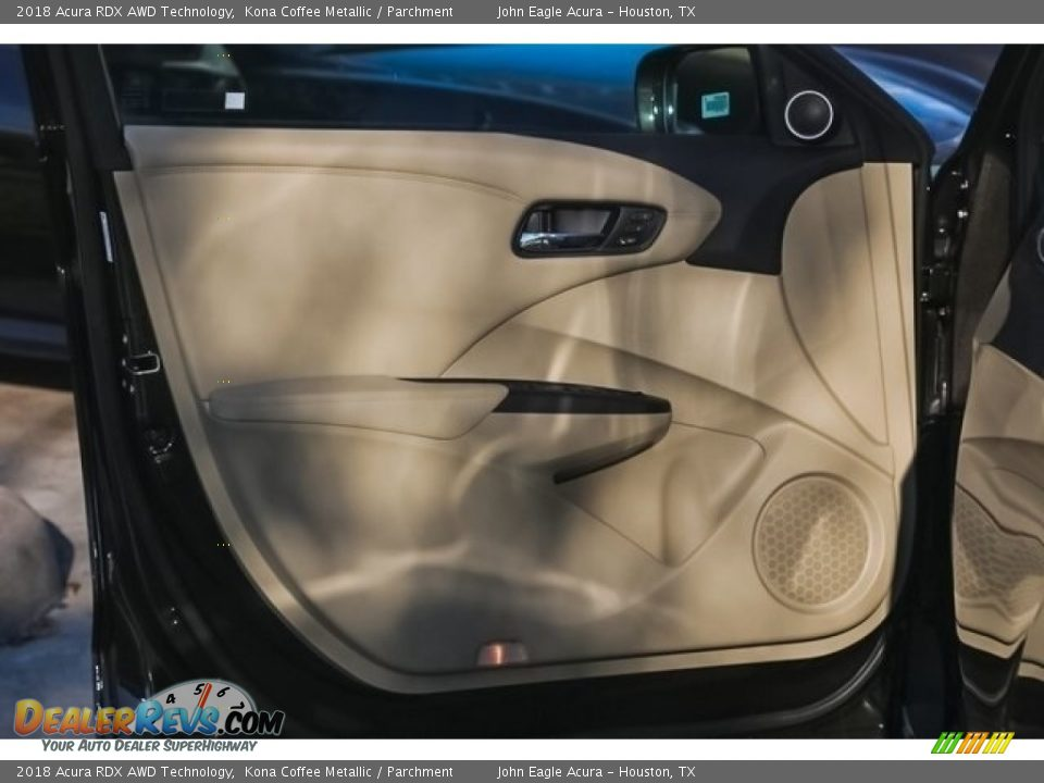 2018 Acura RDX AWD Technology Kona Coffee Metallic / Parchment Photo #14
