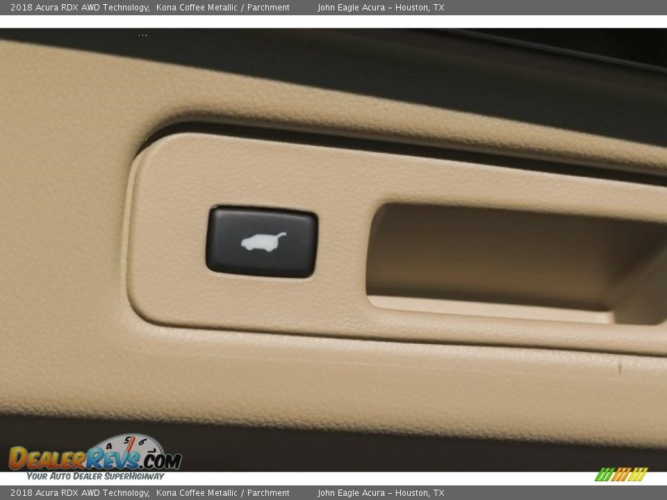 2018 Acura RDX AWD Technology Kona Coffee Metallic / Parchment Photo #19
