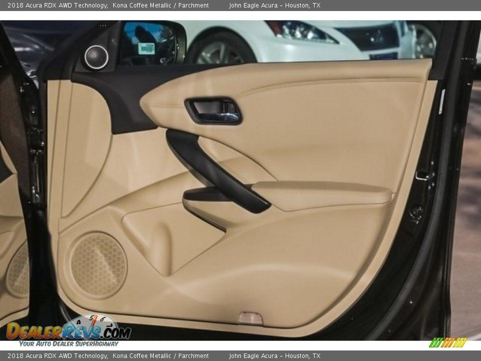 Door Panel of 2018 Acura RDX AWD Technology Photo #22