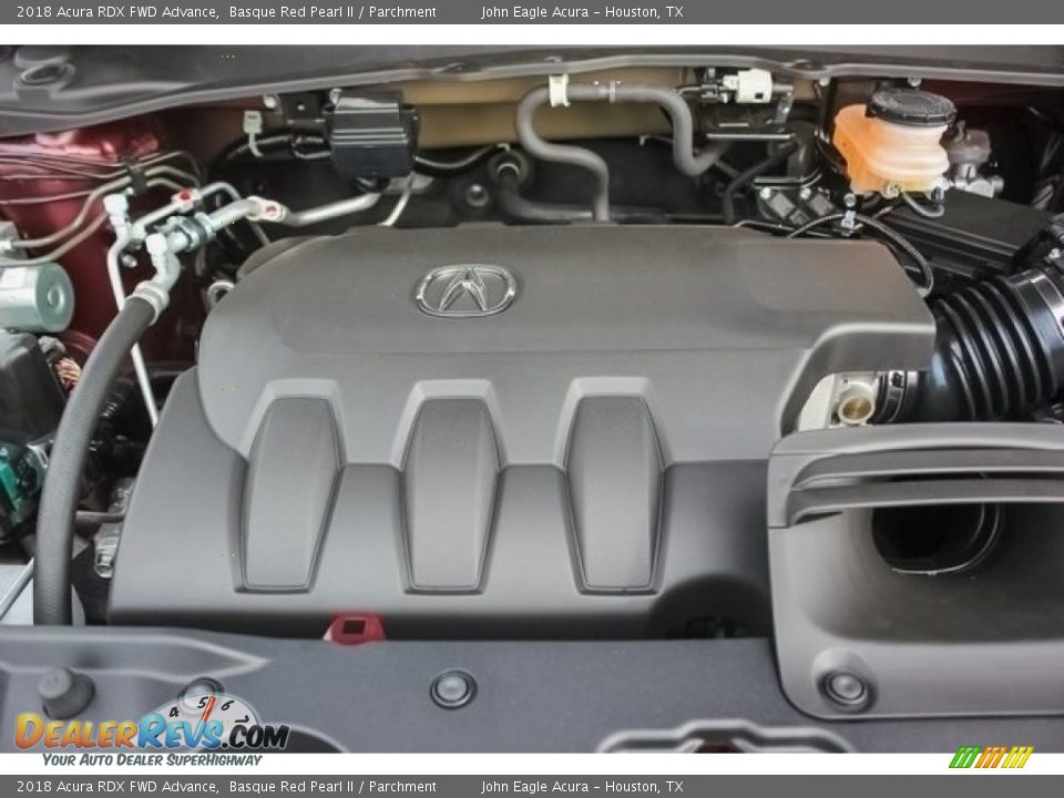 2018 Acura RDX FWD Advance 3.5 Liter SOHC 24-Valve i-VTEC V6 Engine Photo #24