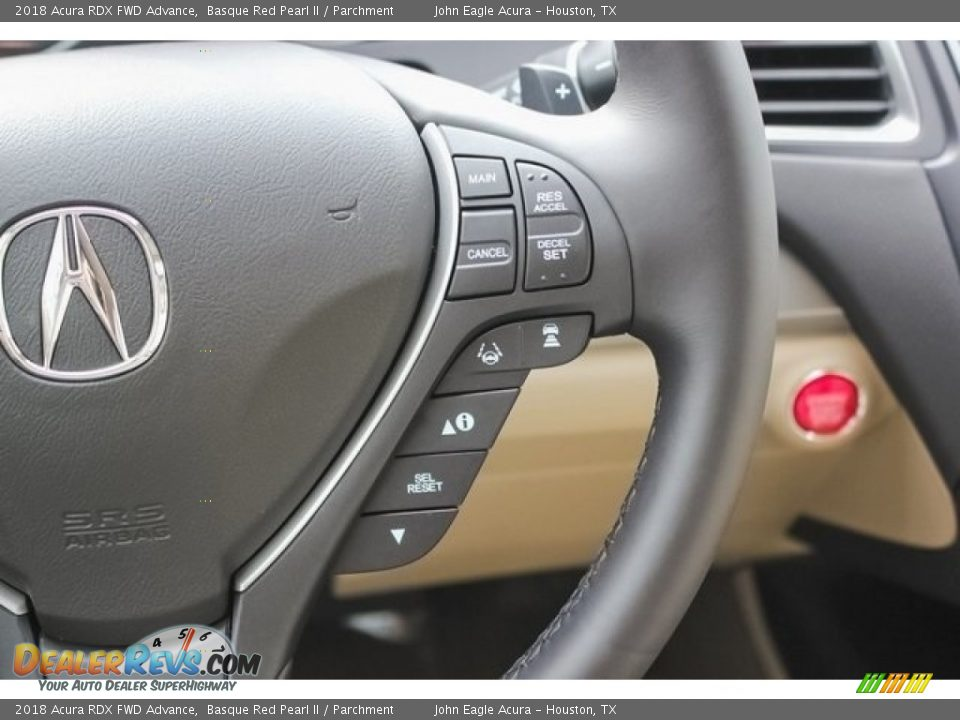 Controls of 2018 Acura RDX FWD Advance Photo #28