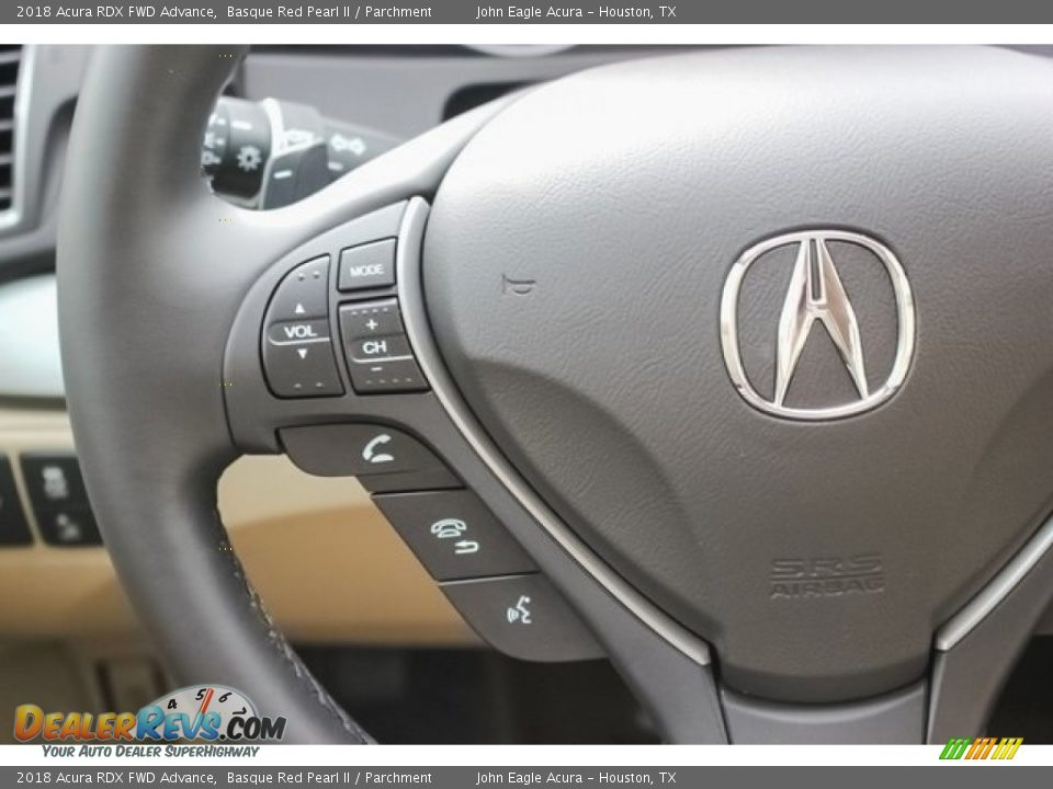 Controls of 2018 Acura RDX FWD Advance Photo #29