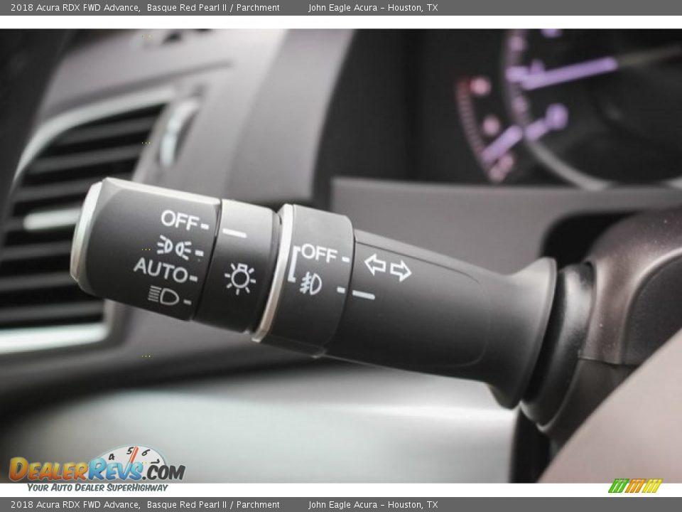 Controls of 2018 Acura RDX FWD Advance Photo #35