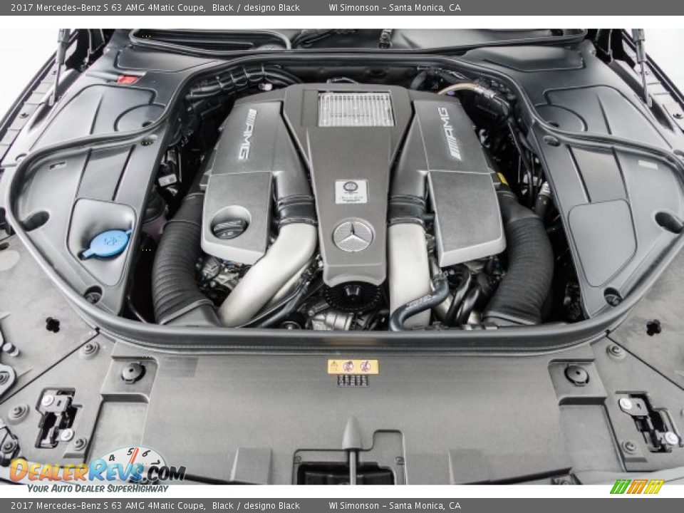 2017 Mercedes-Benz S 63 AMG 4Matic Coupe Black / designo Black Photo #8