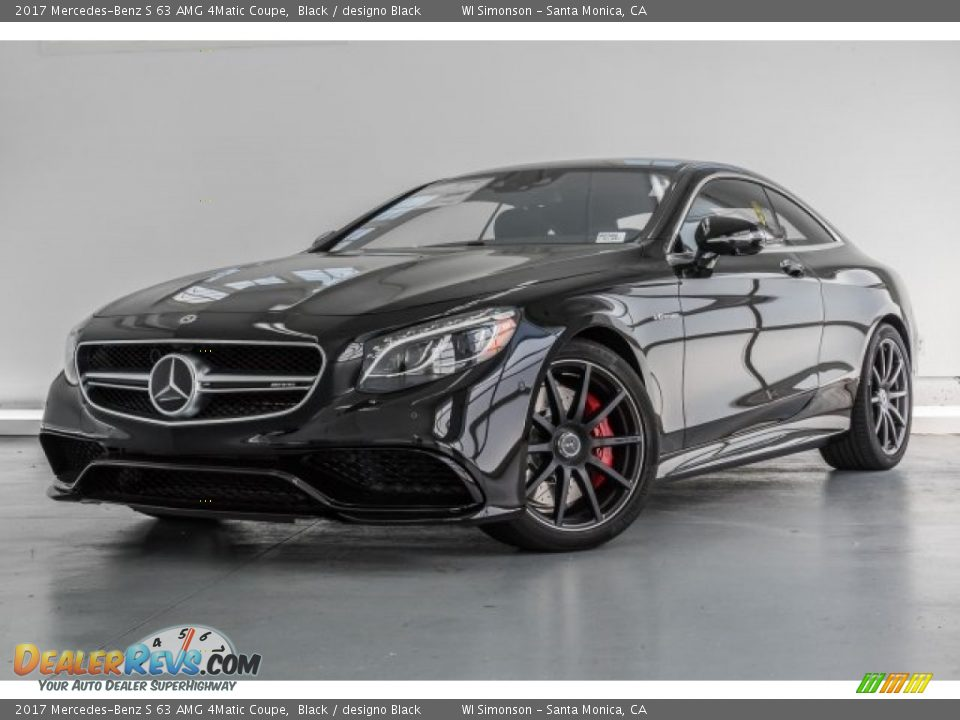 2017 Mercedes-Benz S 63 AMG 4Matic Coupe Black / designo Black Photo #14