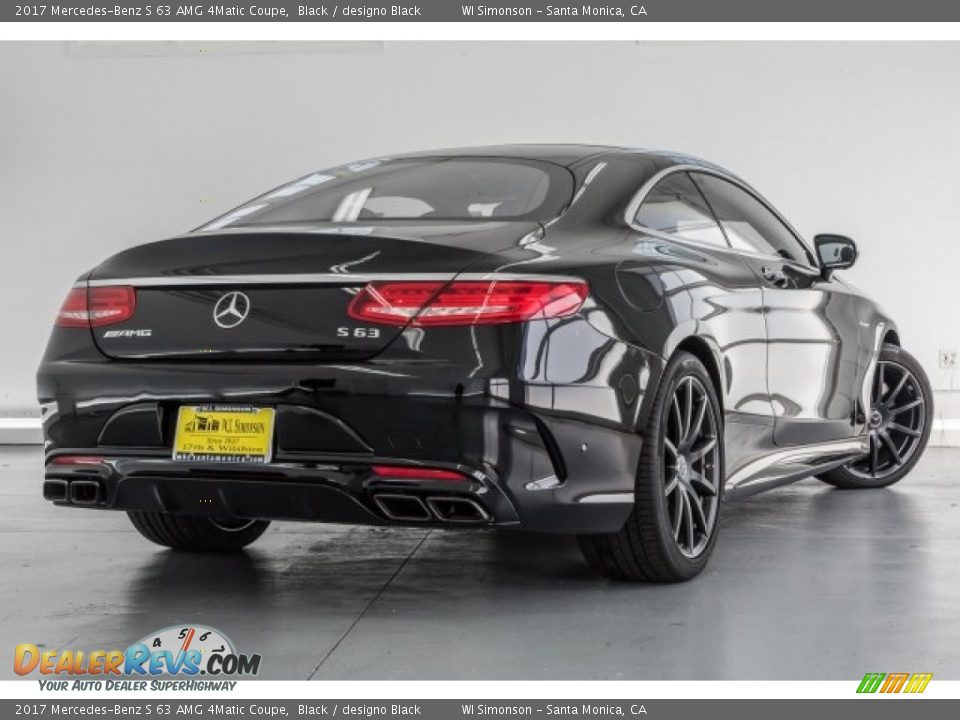 2017 Mercedes-Benz S 63 AMG 4Matic Coupe Black / designo Black Photo #16
