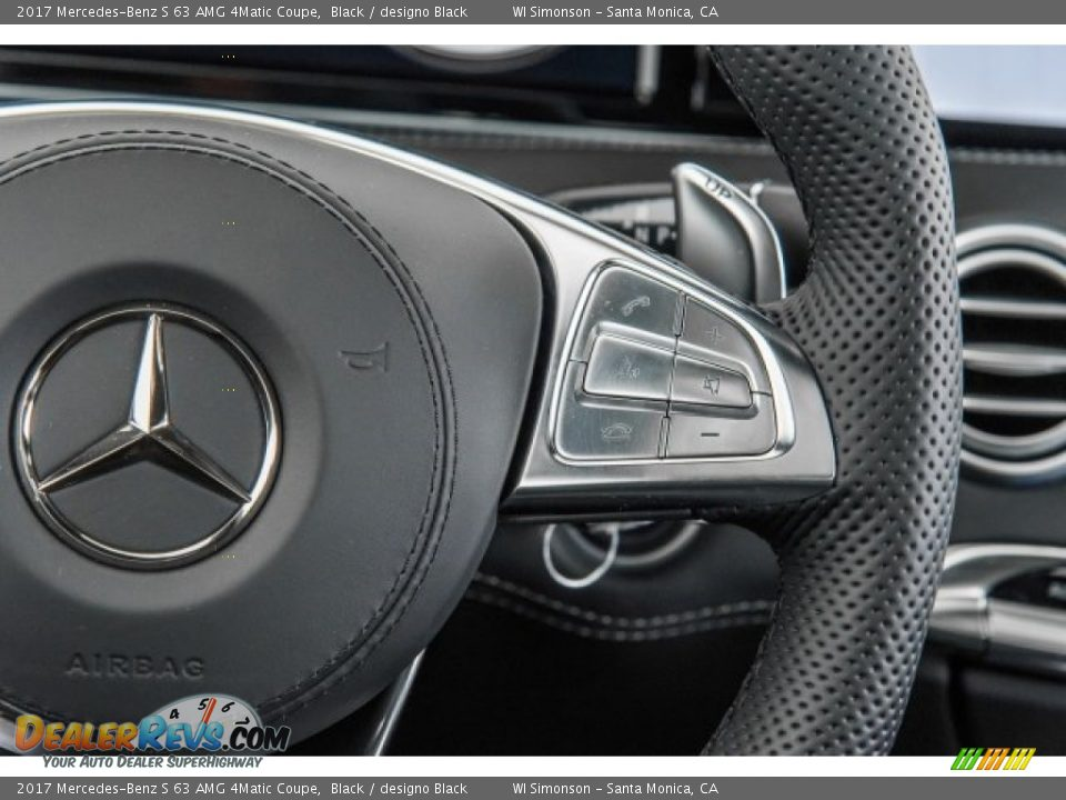 2017 Mercedes-Benz S 63 AMG 4Matic Coupe Black / designo Black Photo #17
