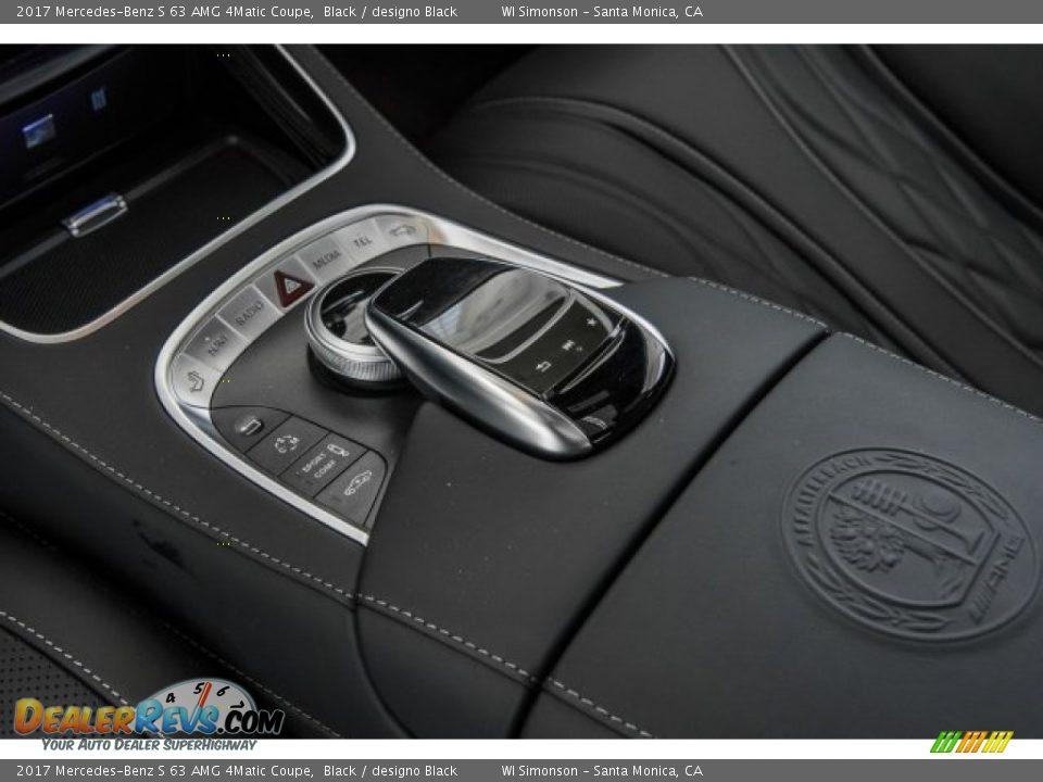 2017 Mercedes-Benz S 63 AMG 4Matic Coupe Black / designo Black Photo #20