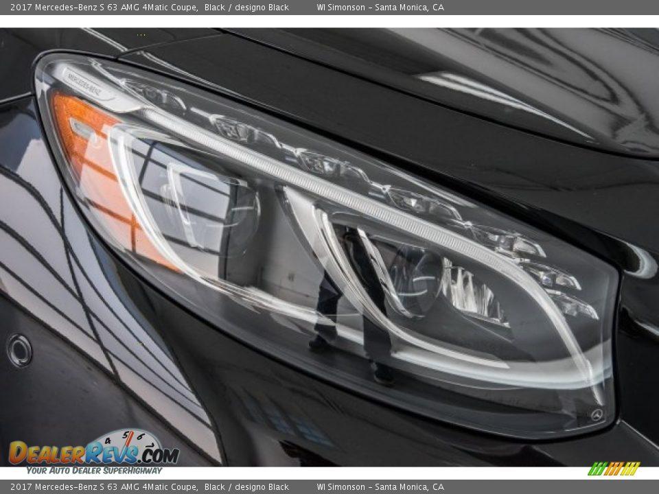 2017 Mercedes-Benz S 63 AMG 4Matic Coupe Black / designo Black Photo #30