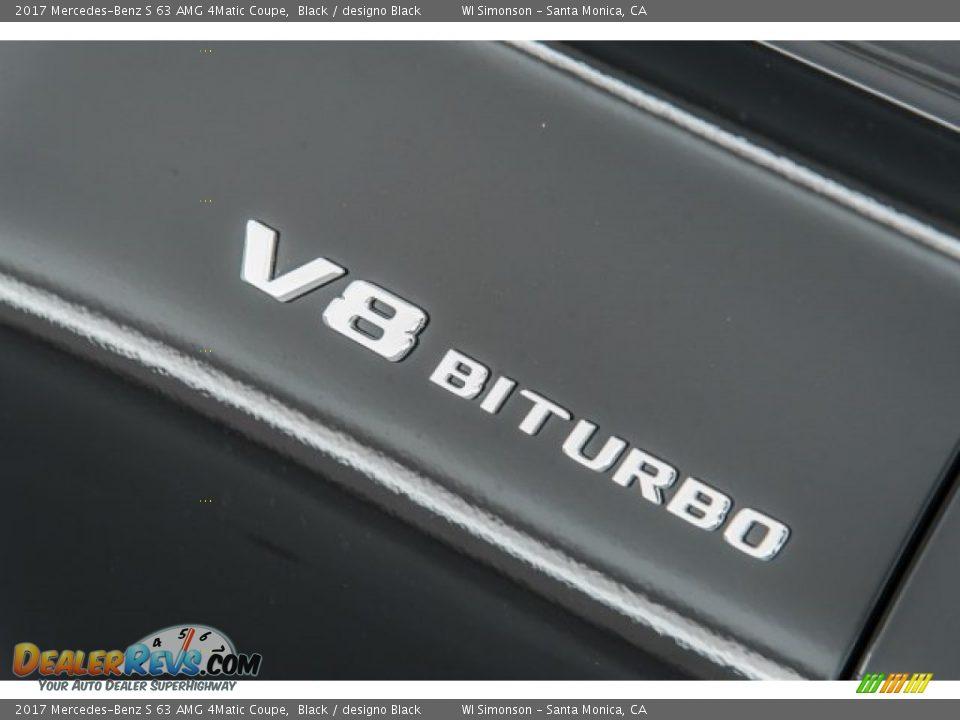 2017 Mercedes-Benz S 63 AMG 4Matic Coupe Black / designo Black Photo #32