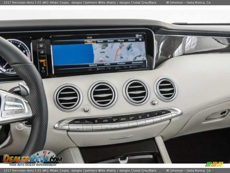 Controls of 2017 Mercedes-Benz S 63 AMG 4Matic Coupe Photo #5