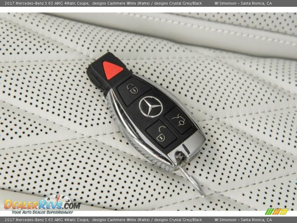 Keys of 2017 Mercedes-Benz S 63 AMG 4Matic Coupe Photo #11