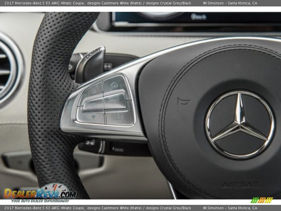 Controls of 2017 Mercedes-Benz S 63 AMG 4Matic Coupe Photo #19