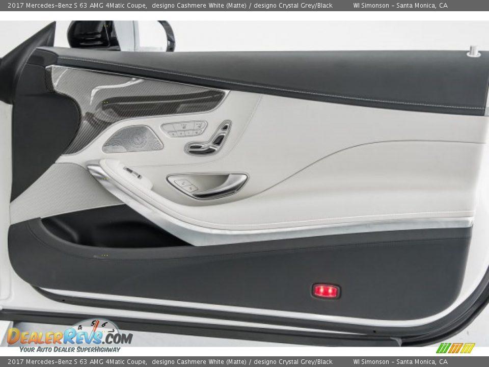 Door Panel of 2017 Mercedes-Benz S 63 AMG 4Matic Coupe Photo #29