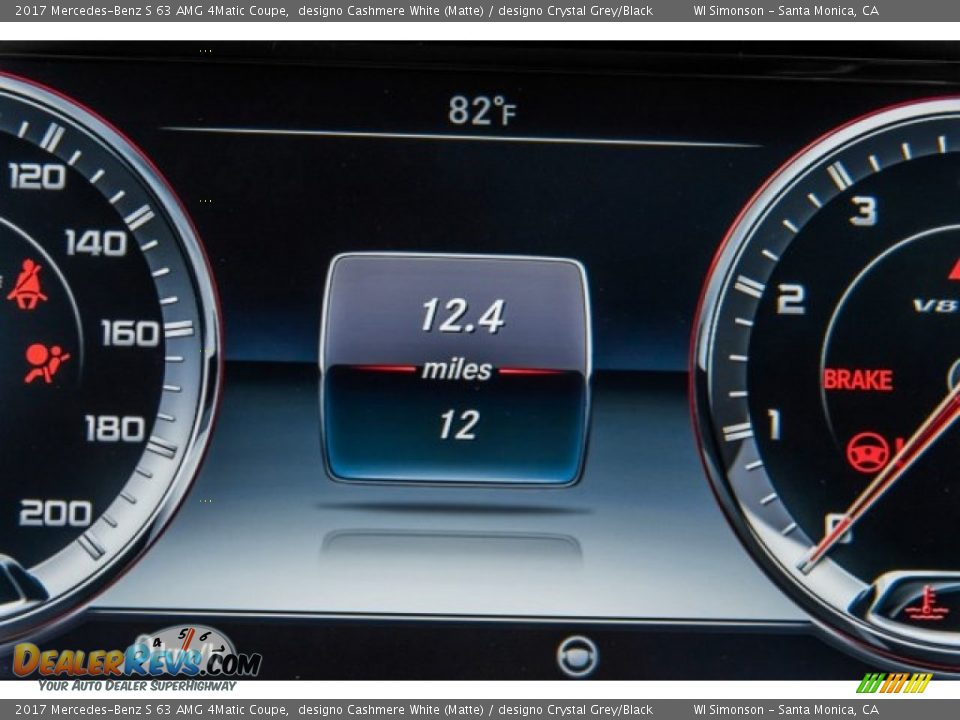 2017 Mercedes-Benz S 63 AMG 4Matic Coupe designo Cashmere White (Matte) / designo Crystal Grey/Black Photo #34