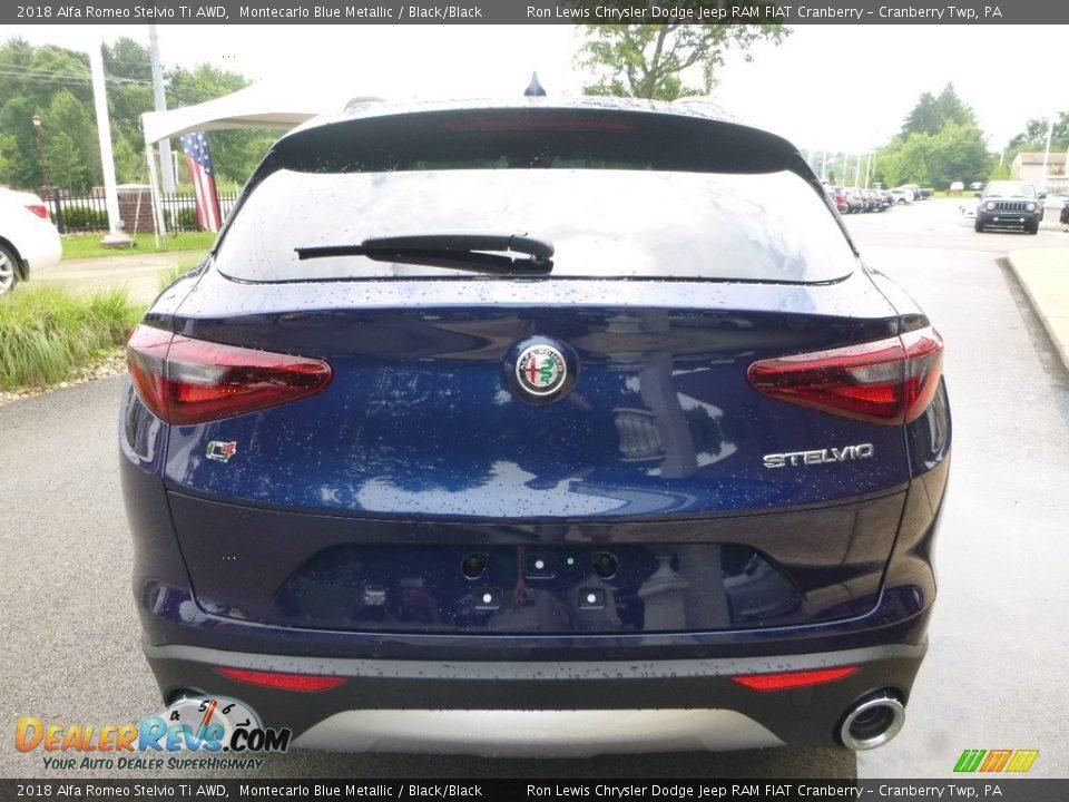 Exhaust of 2018 Alfa Romeo Stelvio Ti AWD Photo #6