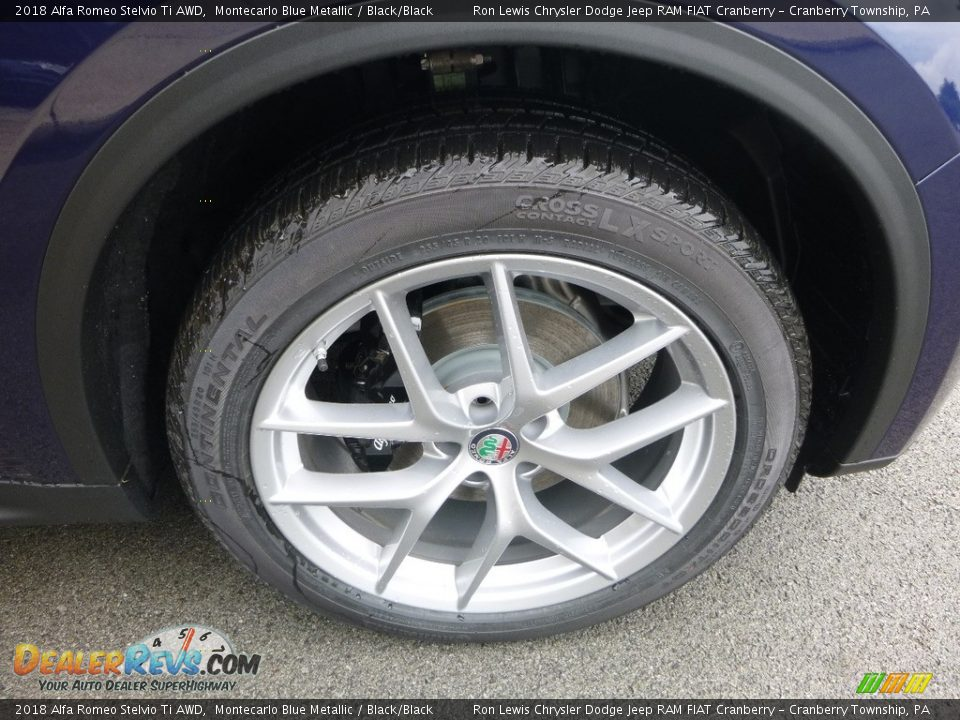 2018 Alfa Romeo Stelvio Ti AWD Wheel Photo #13