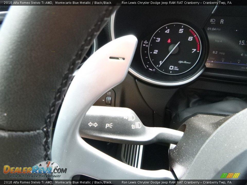 2018 Alfa Romeo Stelvio Ti AWD Shifter Photo #31
