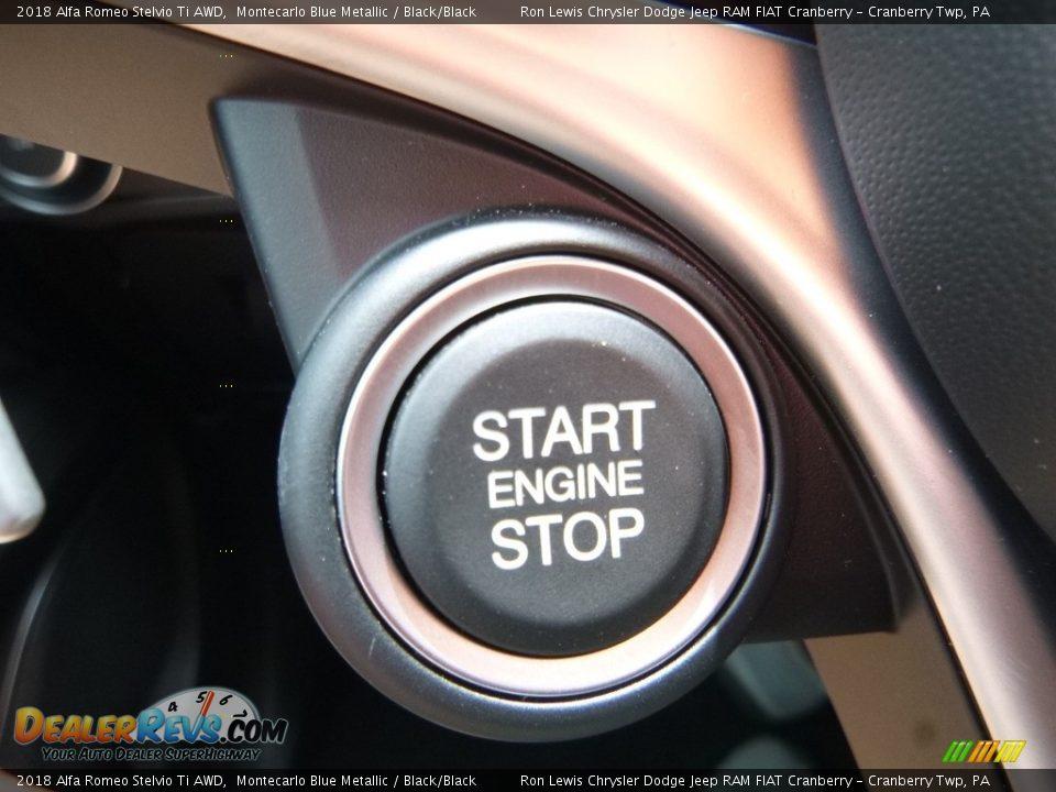 Controls of 2018 Alfa Romeo Stelvio Ti AWD Photo #32