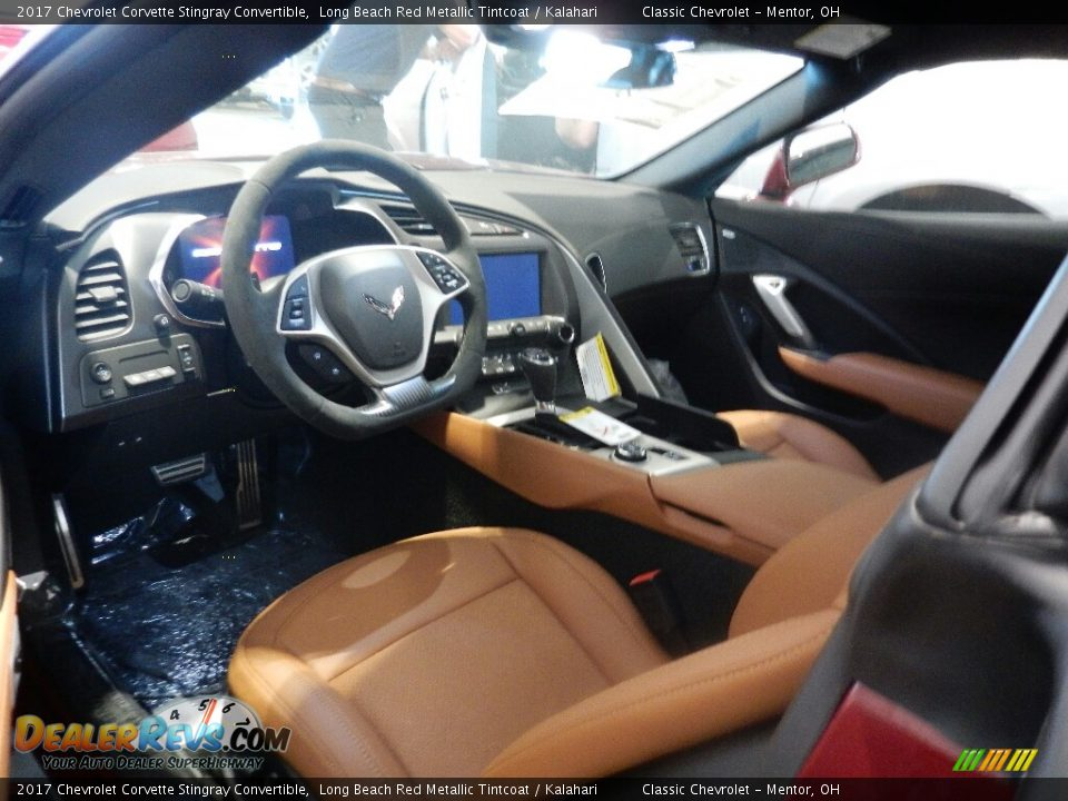 Kalahari Interior - 2017 Chevrolet Corvette Stingray Convertible Photo #6