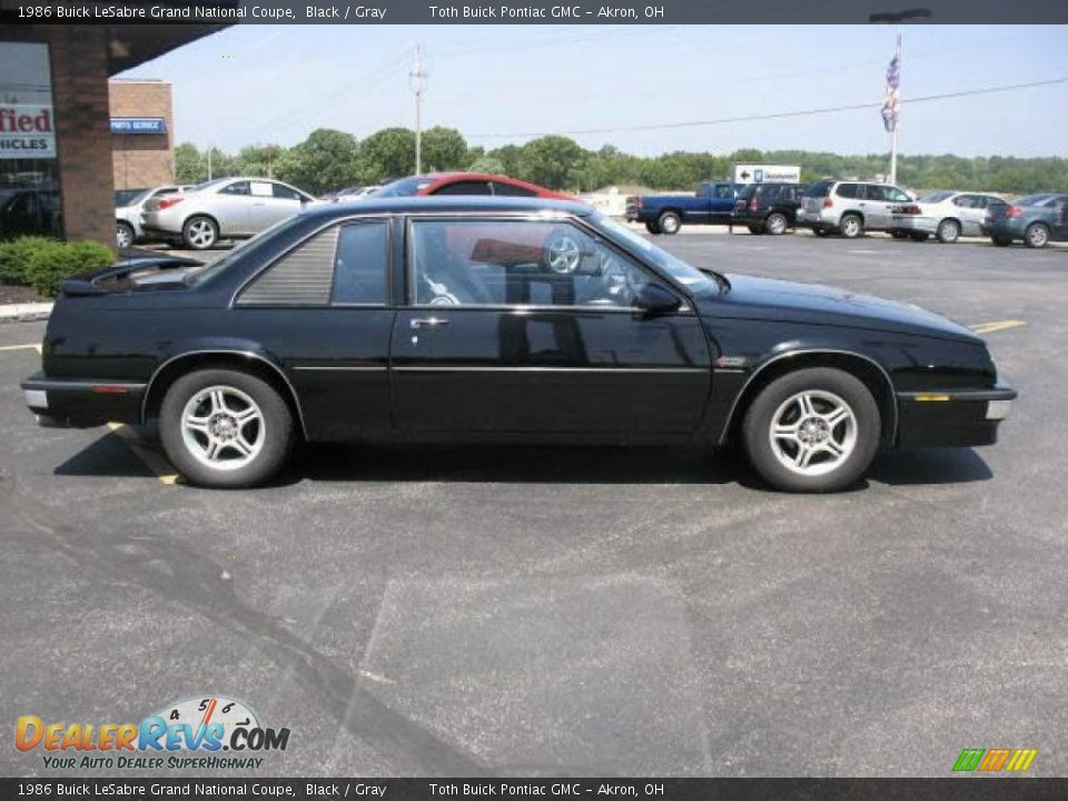 1986 Buick Lesabre Grand National Coupe Black Gray Photo