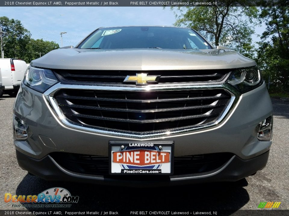 2018 Chevrolet Equinox LT AWD Pepperdust Metallic / Jet Black Photo #2
