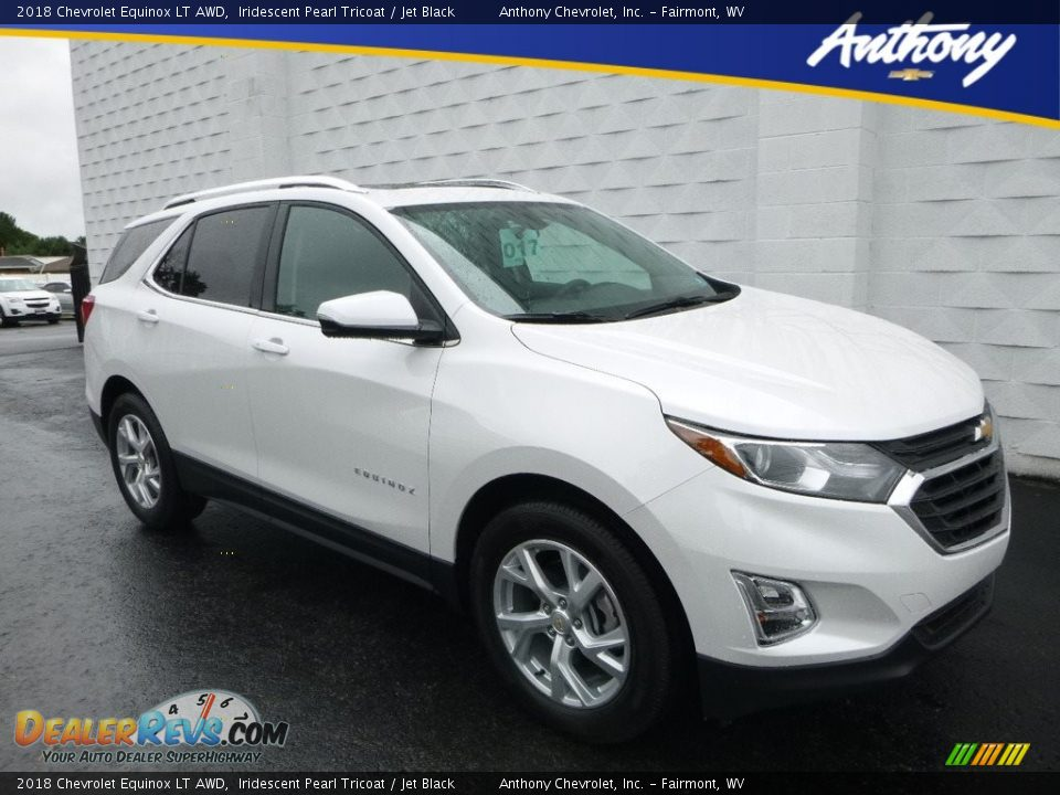 2018 Chevrolet Equinox LT AWD Iridescent Pearl Tricoat / Jet Black Photo #1