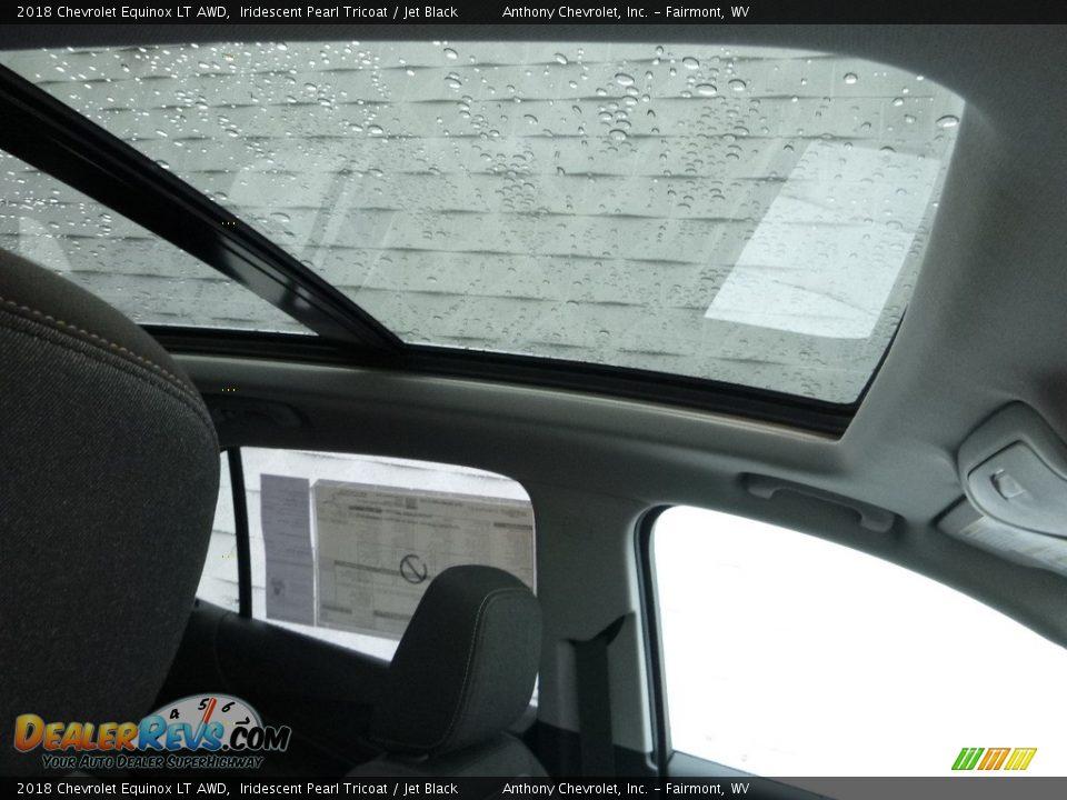 2018 Chevrolet Equinox LT AWD Iridescent Pearl Tricoat / Jet Black Photo #12