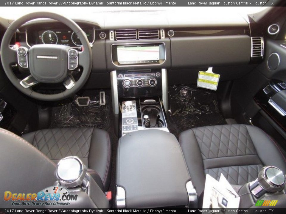 Dashboard of 2017 Land Rover Range Rover SVAutobiography Dynamic Photo #4