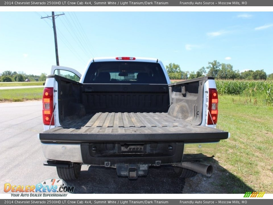 2014 Chevrolet Silverado 2500HD LT Crew Cab 4x4 Summit White / Light Titanium/Dark Titanium Photo #6