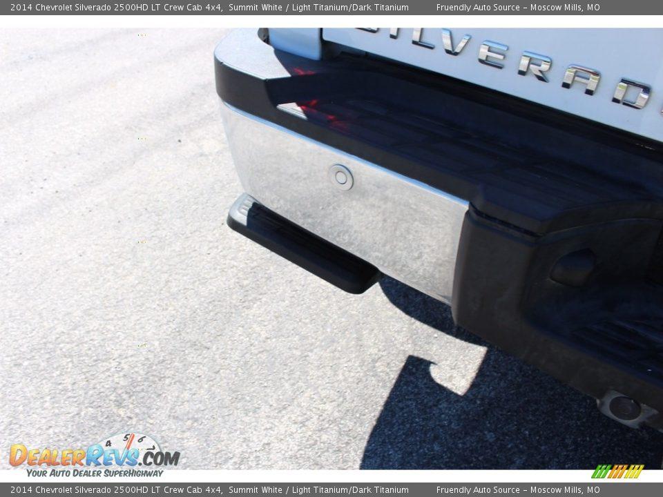 2014 Chevrolet Silverado 2500HD LT Crew Cab 4x4 Summit White / Light Titanium/Dark Titanium Photo #21