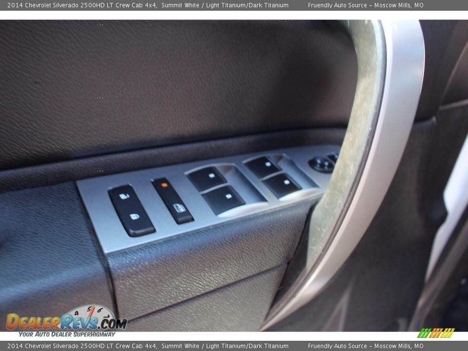 2014 Chevrolet Silverado 2500HD LT Crew Cab 4x4 Summit White / Light Titanium/Dark Titanium Photo #27