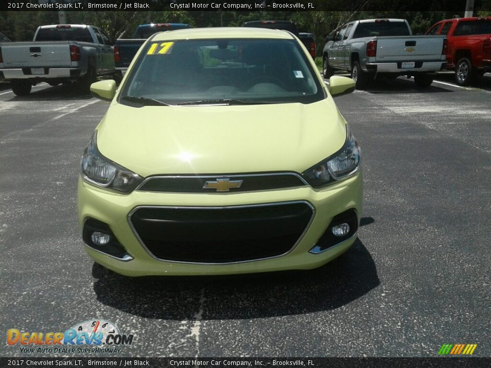 2017 Chevrolet Spark LT Brimstone / Jet Black Photo #8