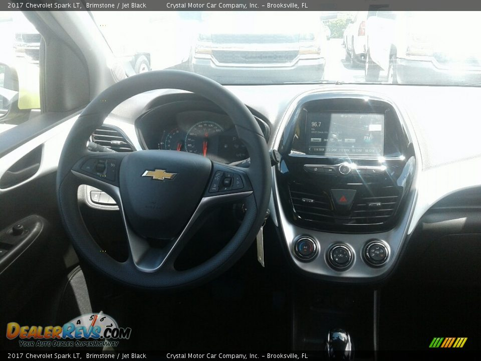 2017 Chevrolet Spark LT Brimstone / Jet Black Photo #12
