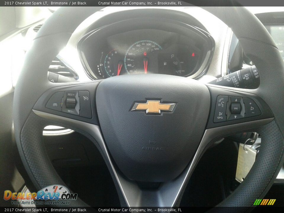 2017 Chevrolet Spark LT Brimstone / Jet Black Photo #14