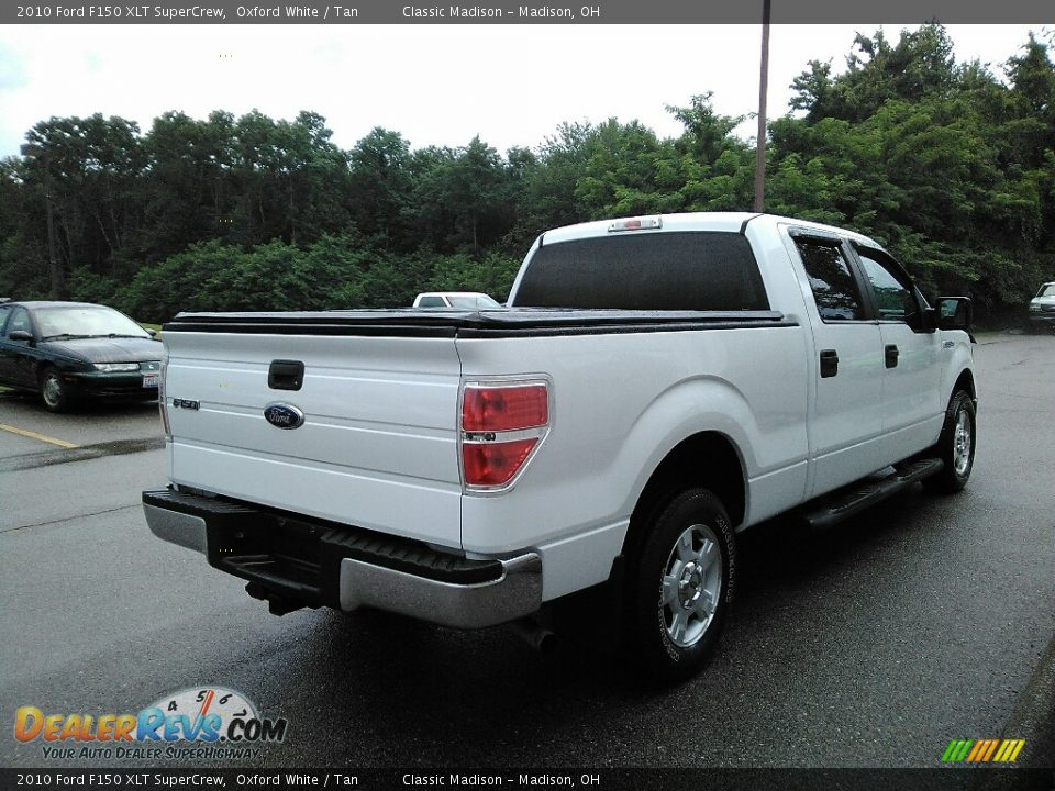 2010 Ford F150 XLT SuperCrew Oxford White / Tan Photo #2