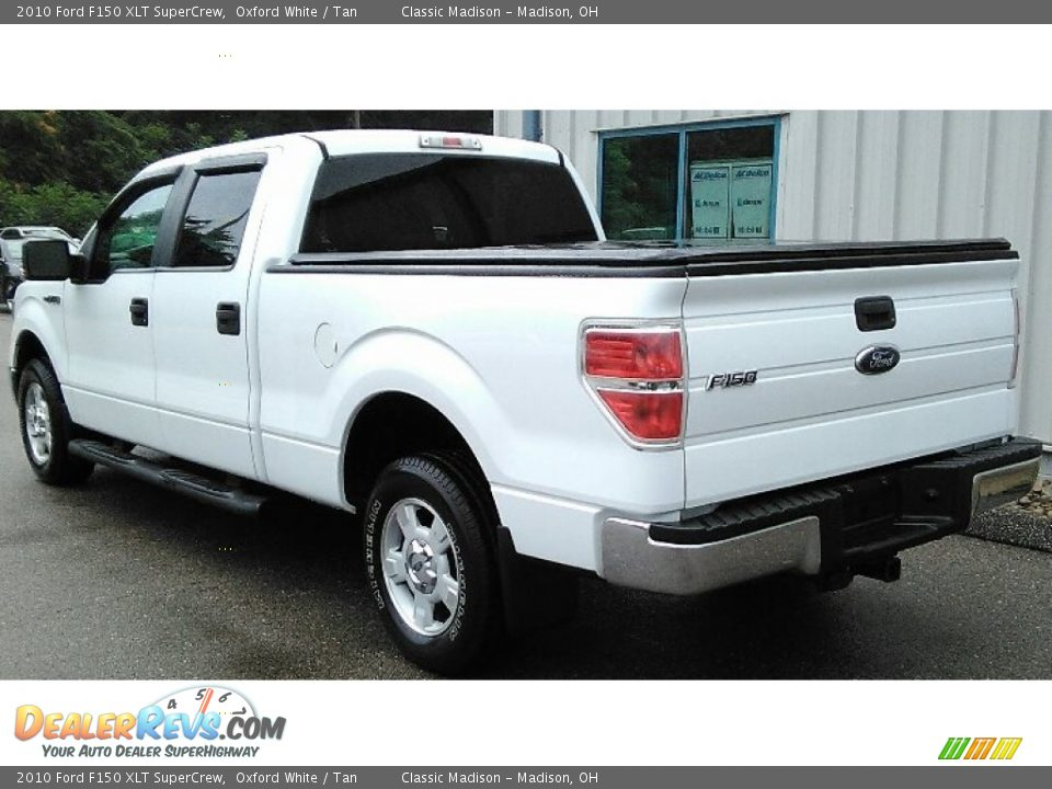 2010 Ford F150 XLT SuperCrew Oxford White / Tan Photo #4