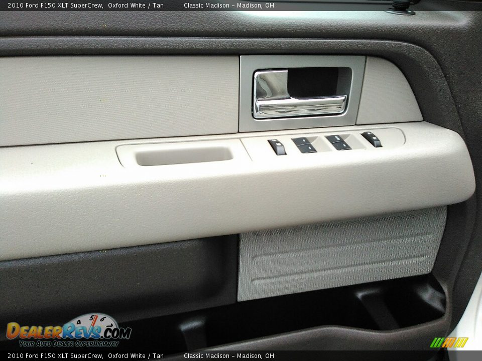 2010 Ford F150 XLT SuperCrew Oxford White / Tan Photo #5
