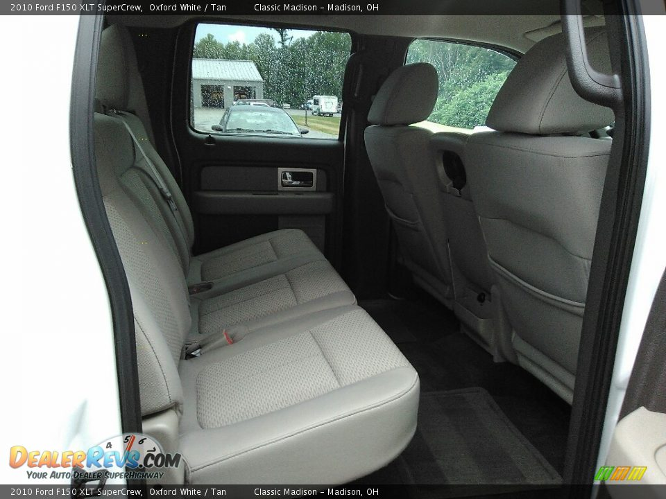 2010 Ford F150 XLT SuperCrew Oxford White / Tan Photo #10