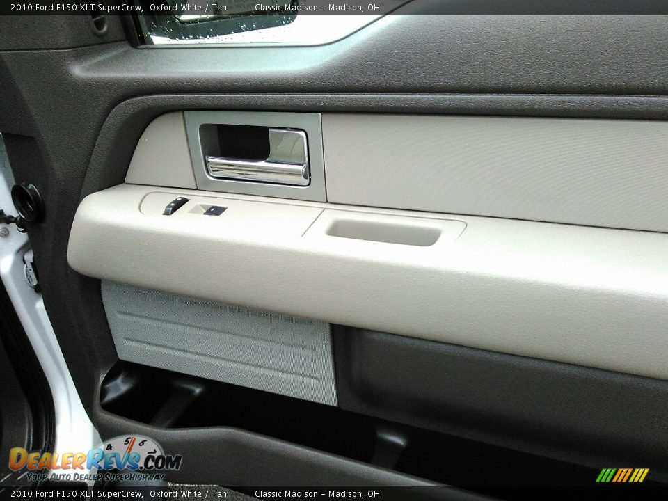 2010 Ford F150 XLT SuperCrew Oxford White / Tan Photo #13
