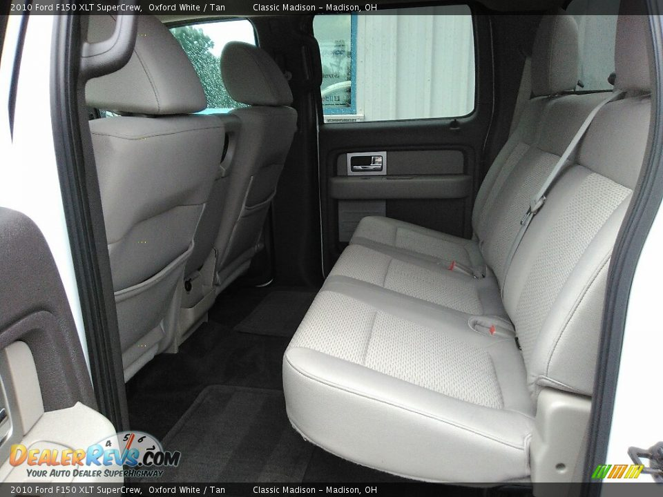 2010 Ford F150 XLT SuperCrew Oxford White / Tan Photo #14