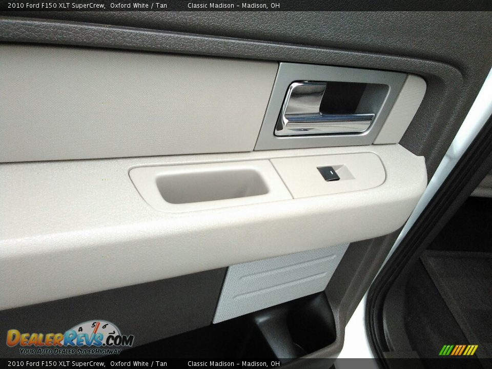 2010 Ford F150 XLT SuperCrew Oxford White / Tan Photo #15