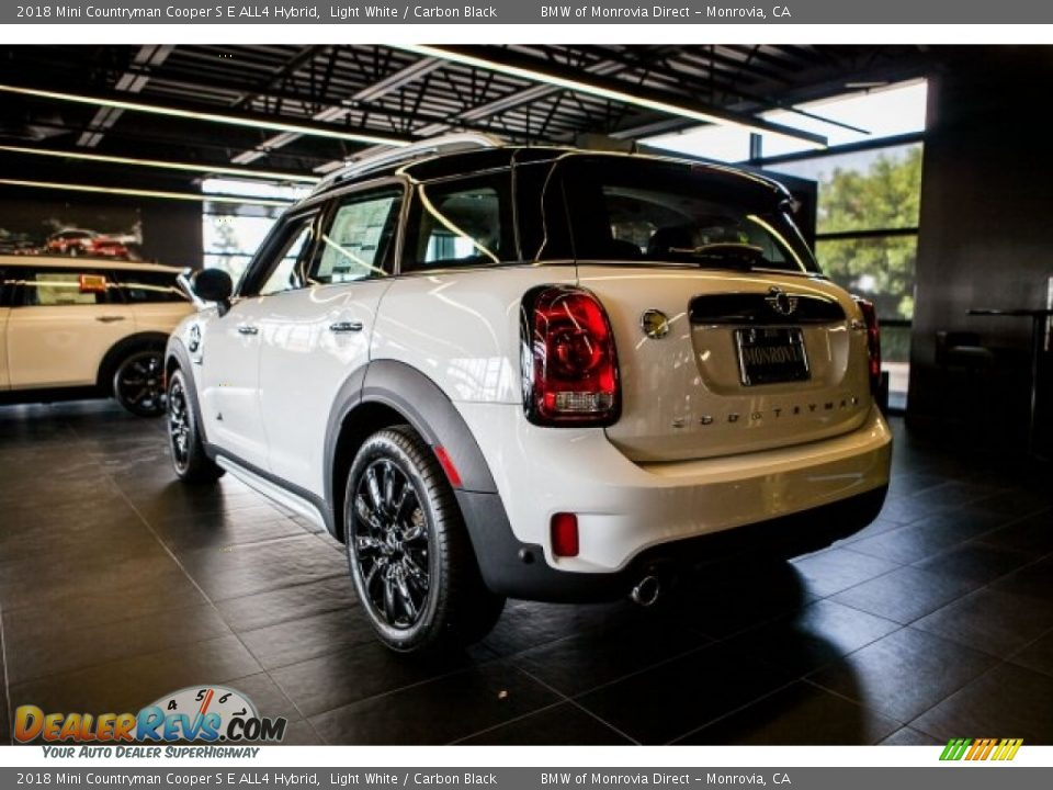 2018 Mini Countryman Cooper S E ALL4 Hybrid Light White / Carbon Black Photo #3