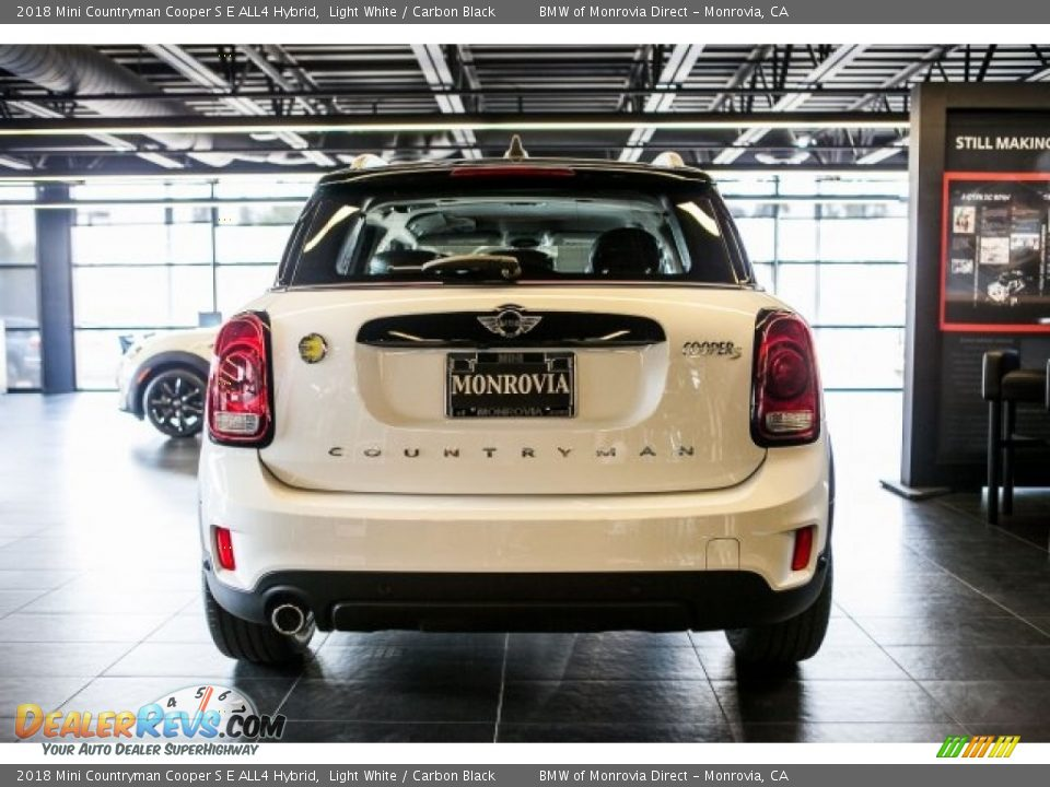 2018 Mini Countryman Cooper S E ALL4 Hybrid Light White / Carbon Black Photo #4