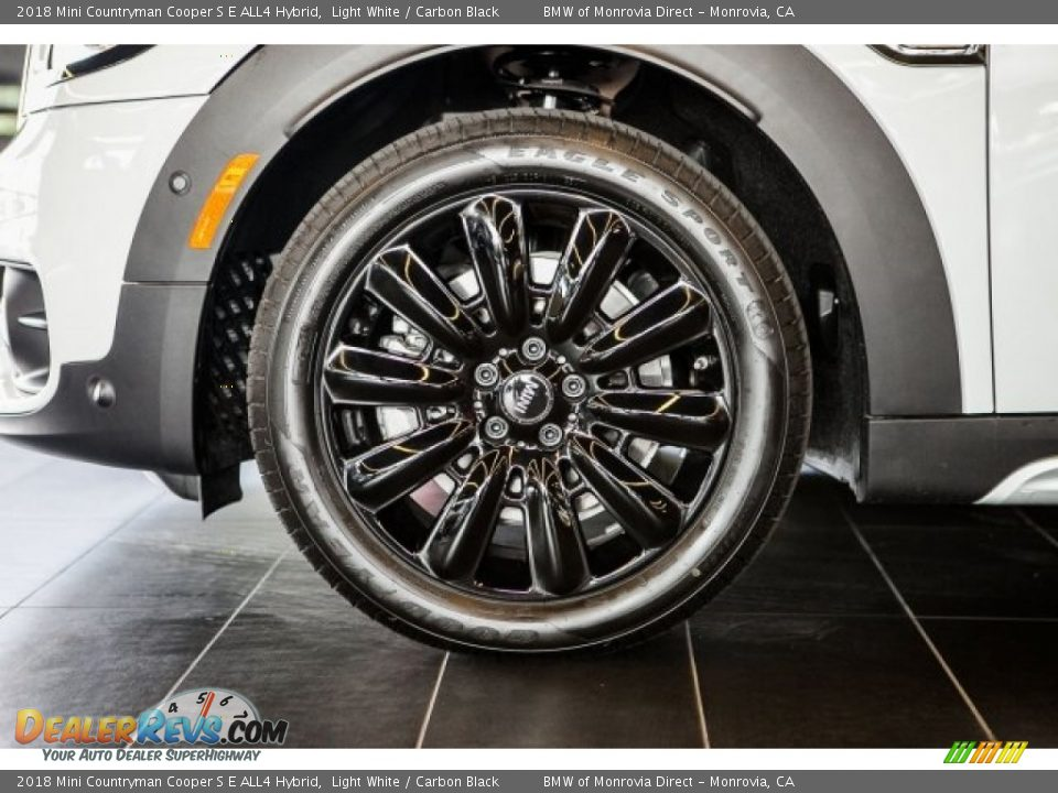 2018 Mini Countryman Cooper S E ALL4 Hybrid Light White / Carbon Black Photo #7